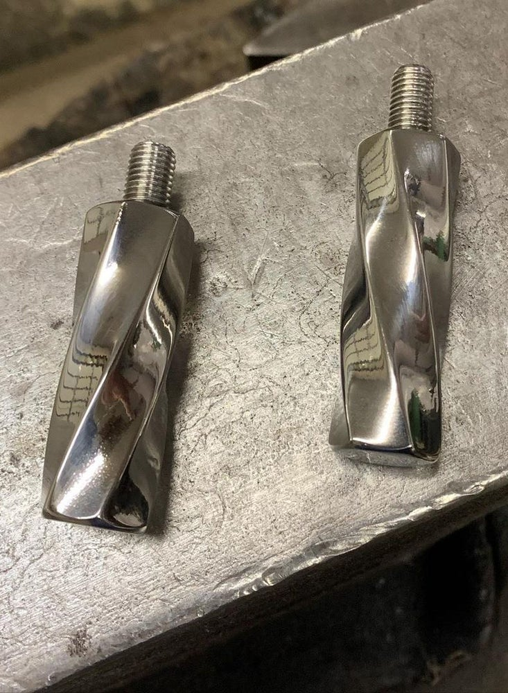 Image of [SCB] Stainless Twisted Shift Peg