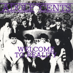 """Image of Adolescents – Welcome To Reality 10"""" (colour vinyl)"""