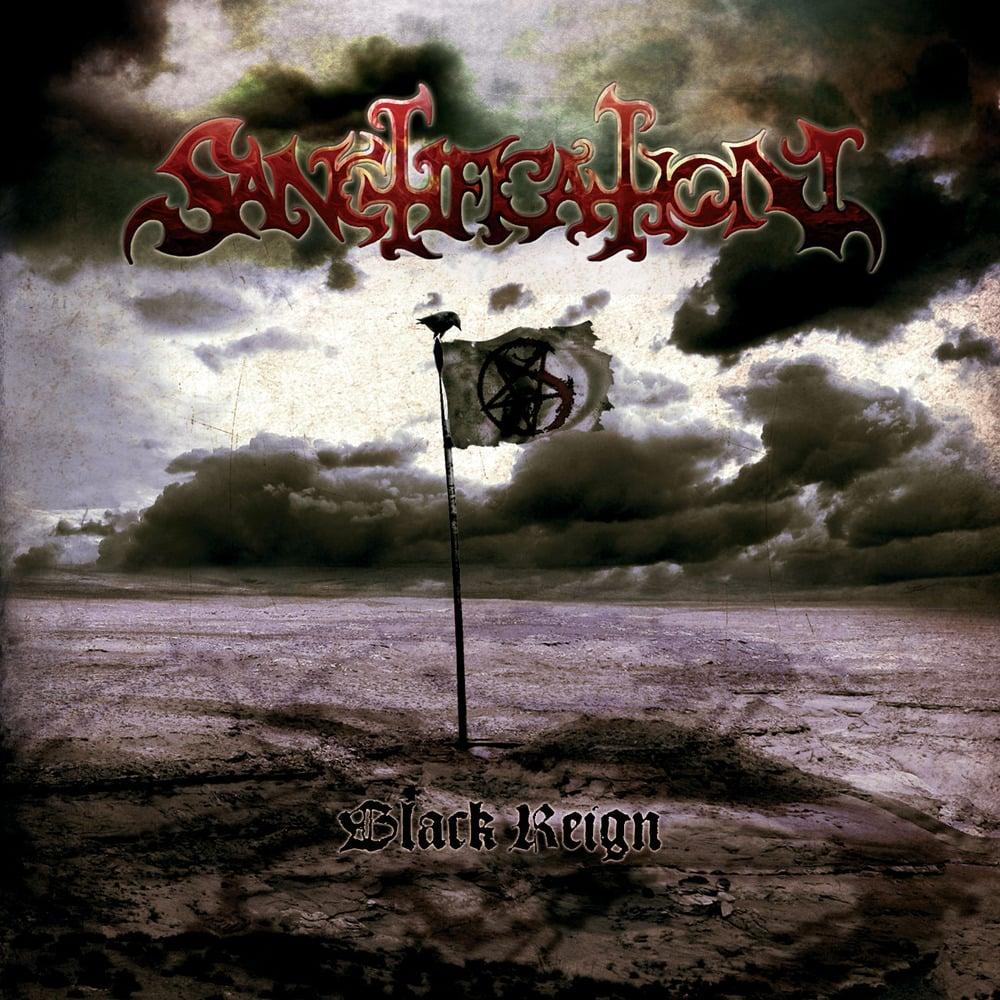 "SANCTIFICATION ""Black Reign"" Super Jewel Box CD"