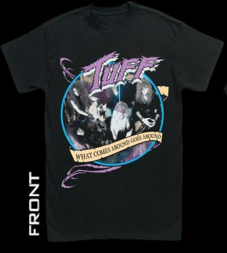 """Image of Tuff """"What Comes Around Goes Around"""" classic style Men's Tour T-Shirt"""