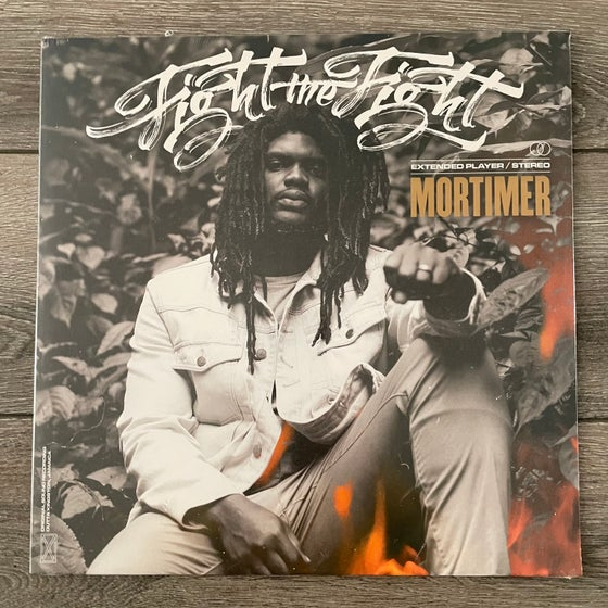 """Image of Mortimer - Fight The Fight Vinyl 12"""" EP"""