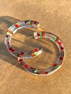 Large Cherry Babe Hoops