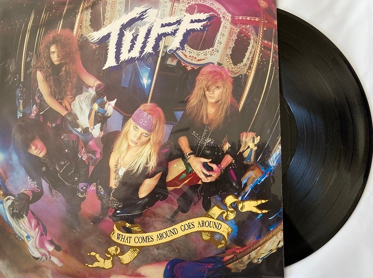 """Image of Tuff -NEW- Vinyl """"What Comes Around Goes Around"""" Remastered 2021 - SIGNED by Stevie Rachelle"""
