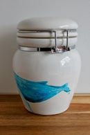 Image 3 of Humpback Whale Ceramic Canister