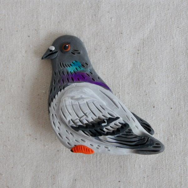 Image of Pigeon Brooch