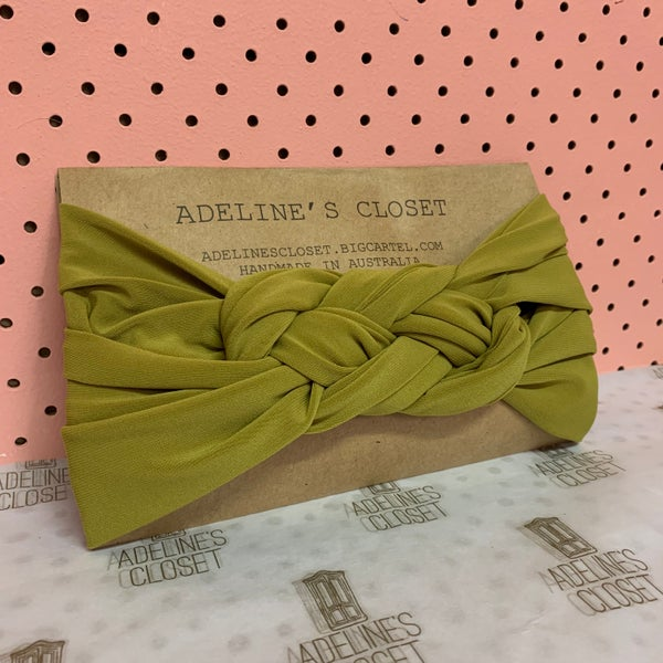 Image of Chartreuse Headwrap