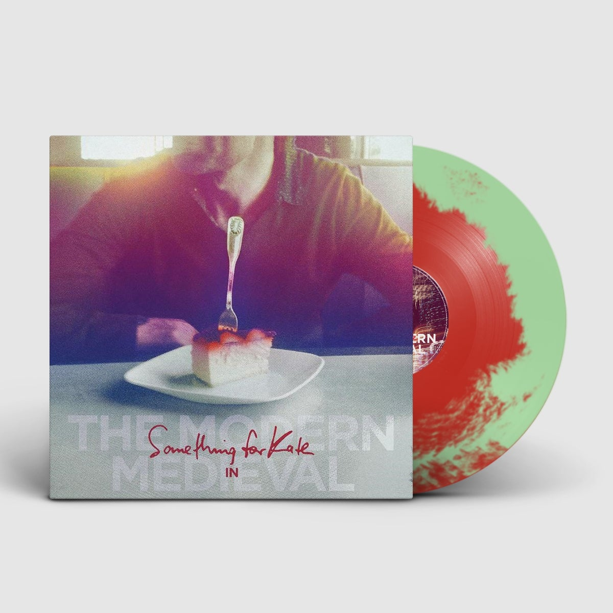 Image of 'The Modern Medieval' mint green & red vinyl - very limited edition