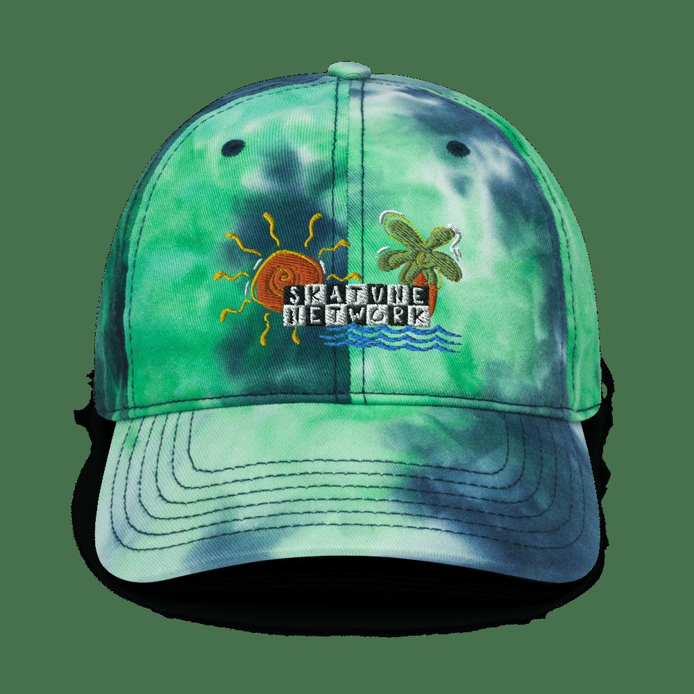 Image of Greetings from Ska Shores | Tie-Dye Dad Hat