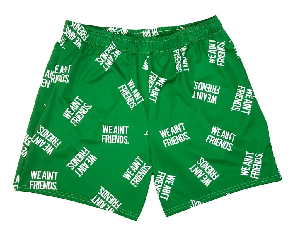 Image of WAF Green (Drawstring Shorts)
