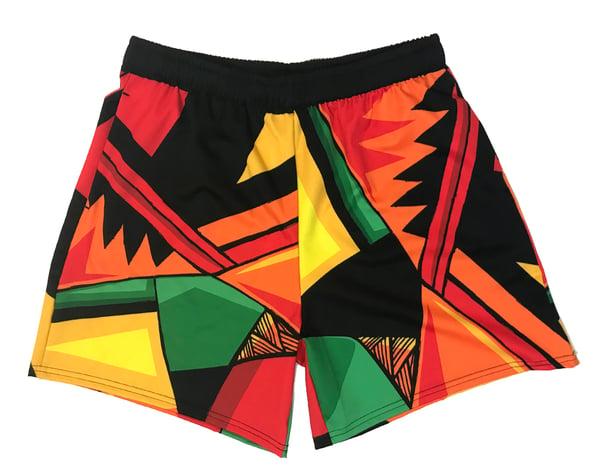 Image of Very Hot Like Pattern (Drawstring Shorts)