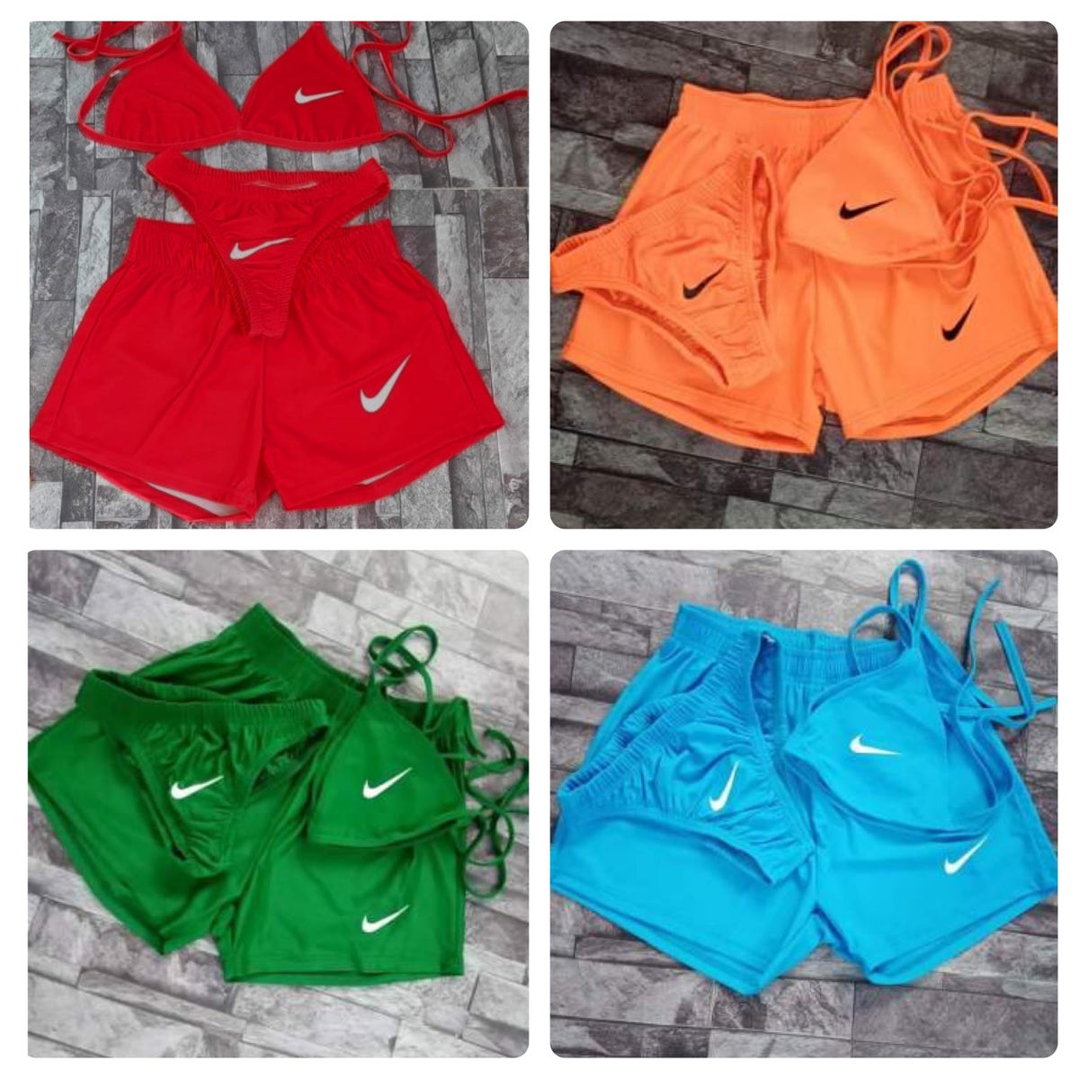 Image of 3 Pc Nike Swim Set