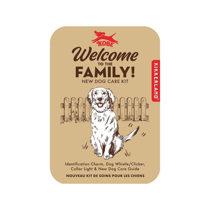 Image of WELCOME TO THE FAMILY DOG KIT