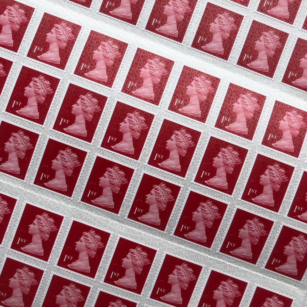 Image of Royal Mail 1st Class Stamps - Sold in singles
