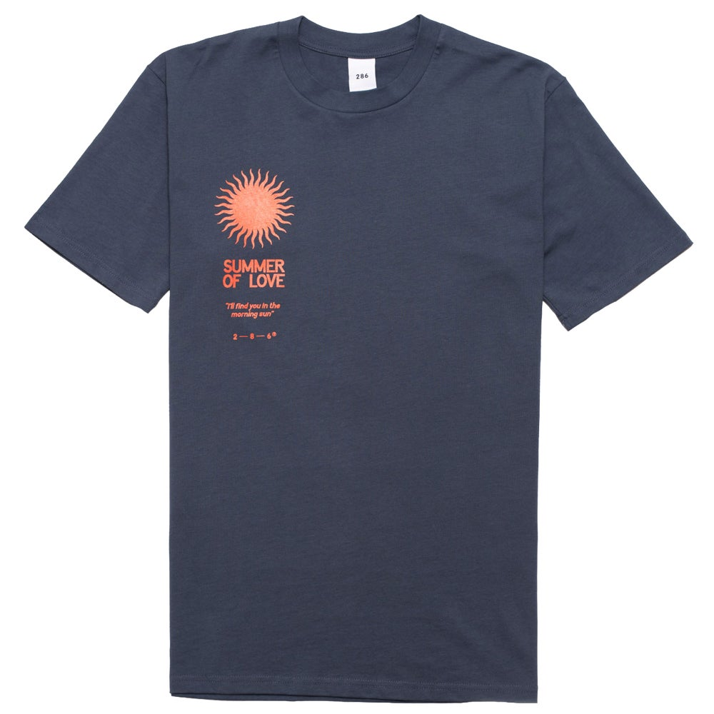 Image of S.O.L Tee - Sunset Blue