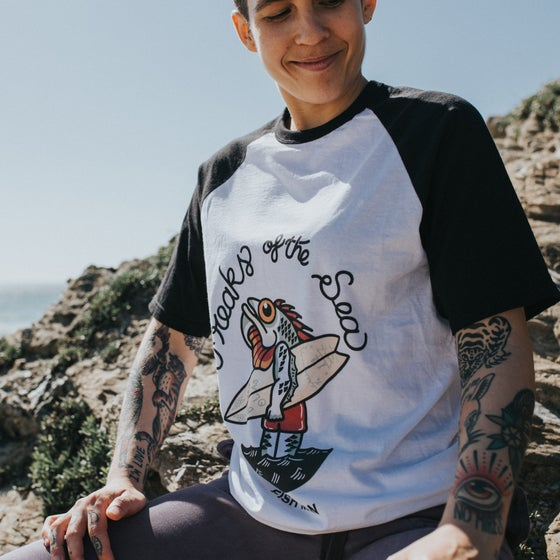 Image of Freaks of the sea the fish man T-shirt