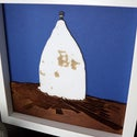 White Nancy Layered Picture