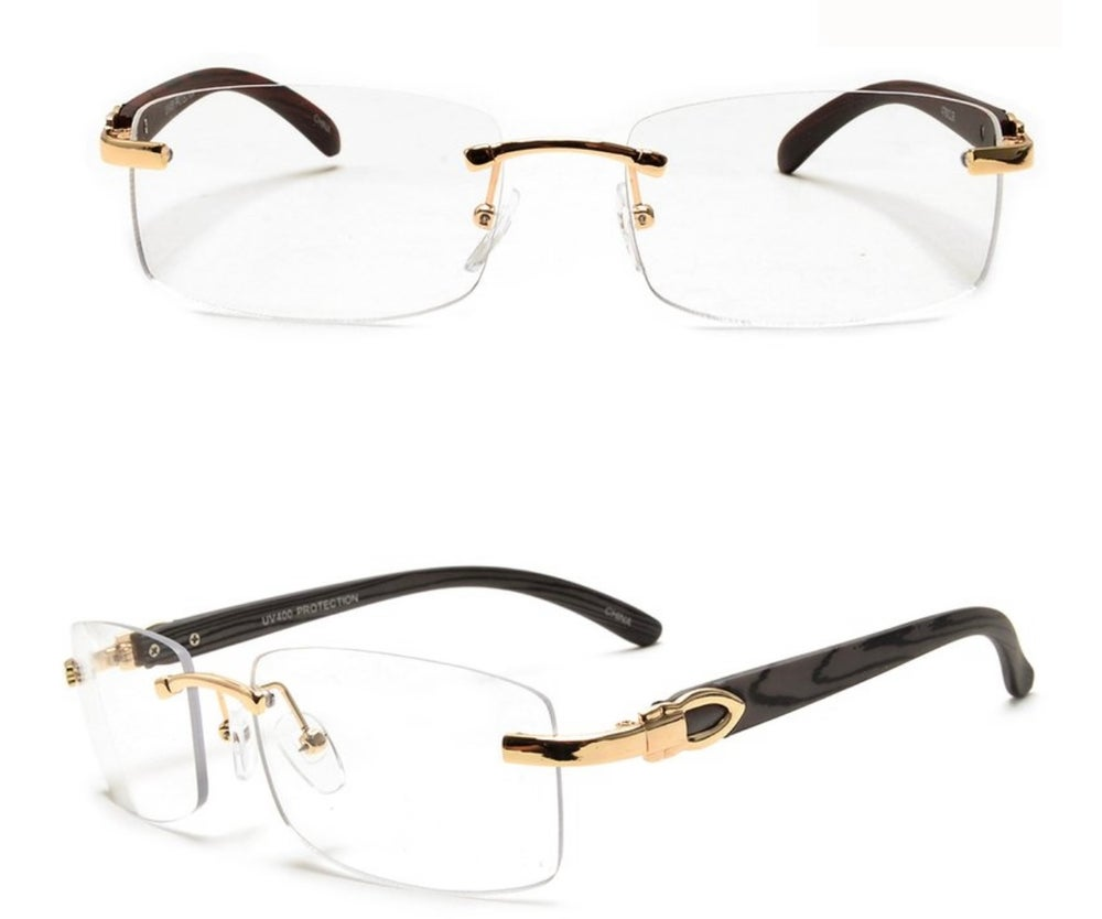 Image of Premium Clear Woodgrain Frames