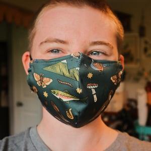 forest face mask (dark)
