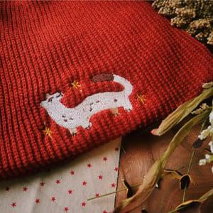 starry ermine *standard* knit hat (CM)