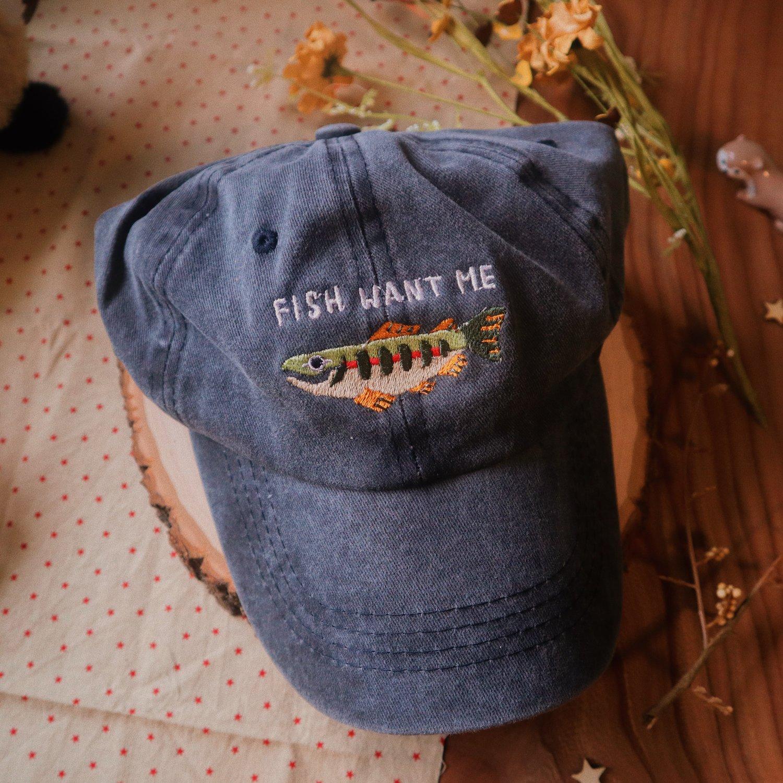 fish want me hat (CM)