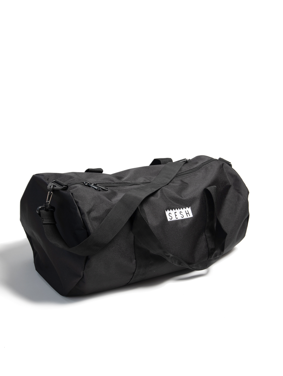 Image of Simple Sesh Logo embroidered Duffle Bag