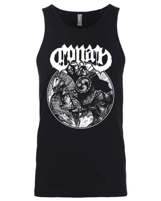 Image of HBBH Circle Tank Top w/ White Print