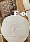All About Mom Pop Ups Embossing Plate