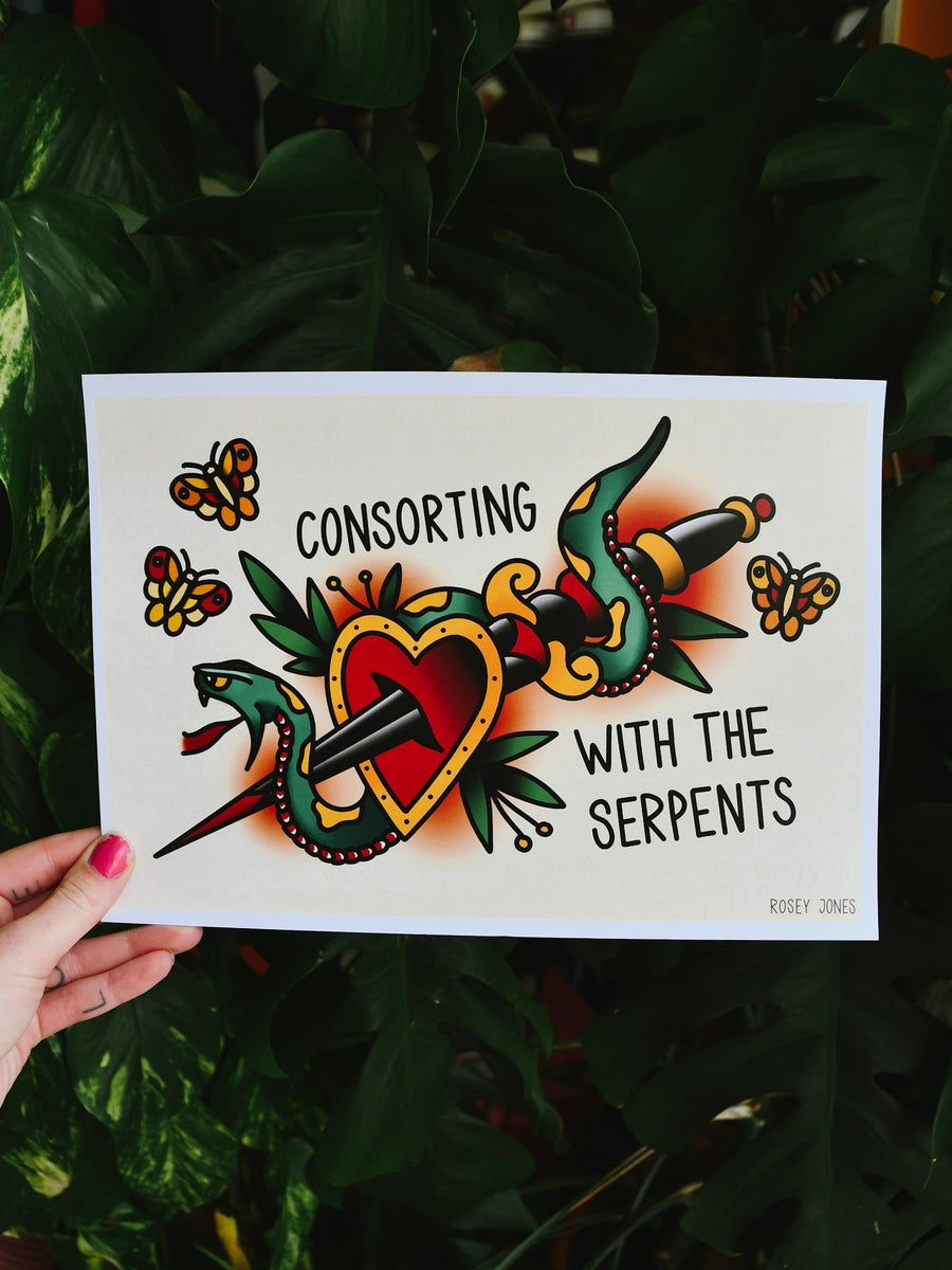 Image of Print Serpents