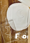 I'll Hang the Moon and Stars Pop Ups Embossing Plate