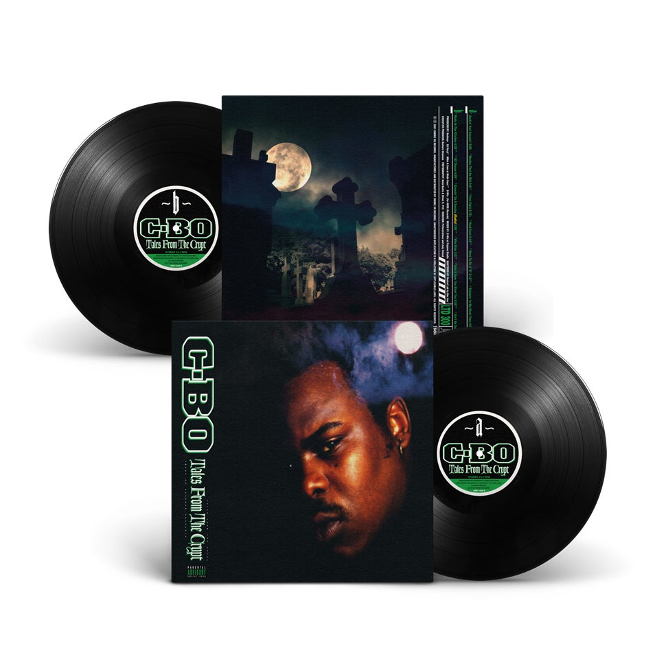 Image of C-Bo - Tales From The Crypt with Obi Vinyl