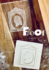 Male Cameo Pop Ups Embossing Plate