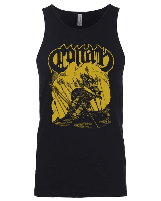 Image of Arrow Wind Tank Top w/ Gold Print