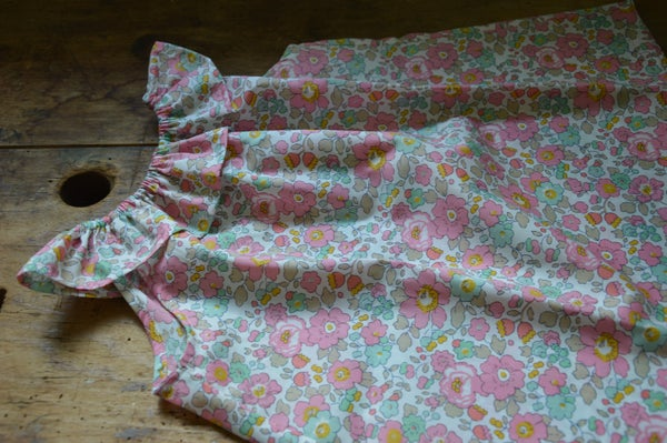 Image of Blouse liberty betsy cupcake col volanté