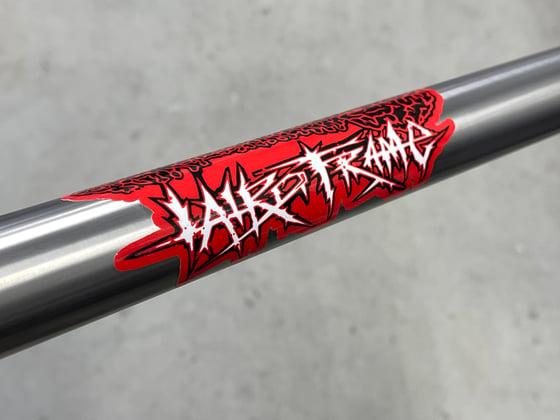 Image of Lairdframe 'Metal' Frame Sticker
