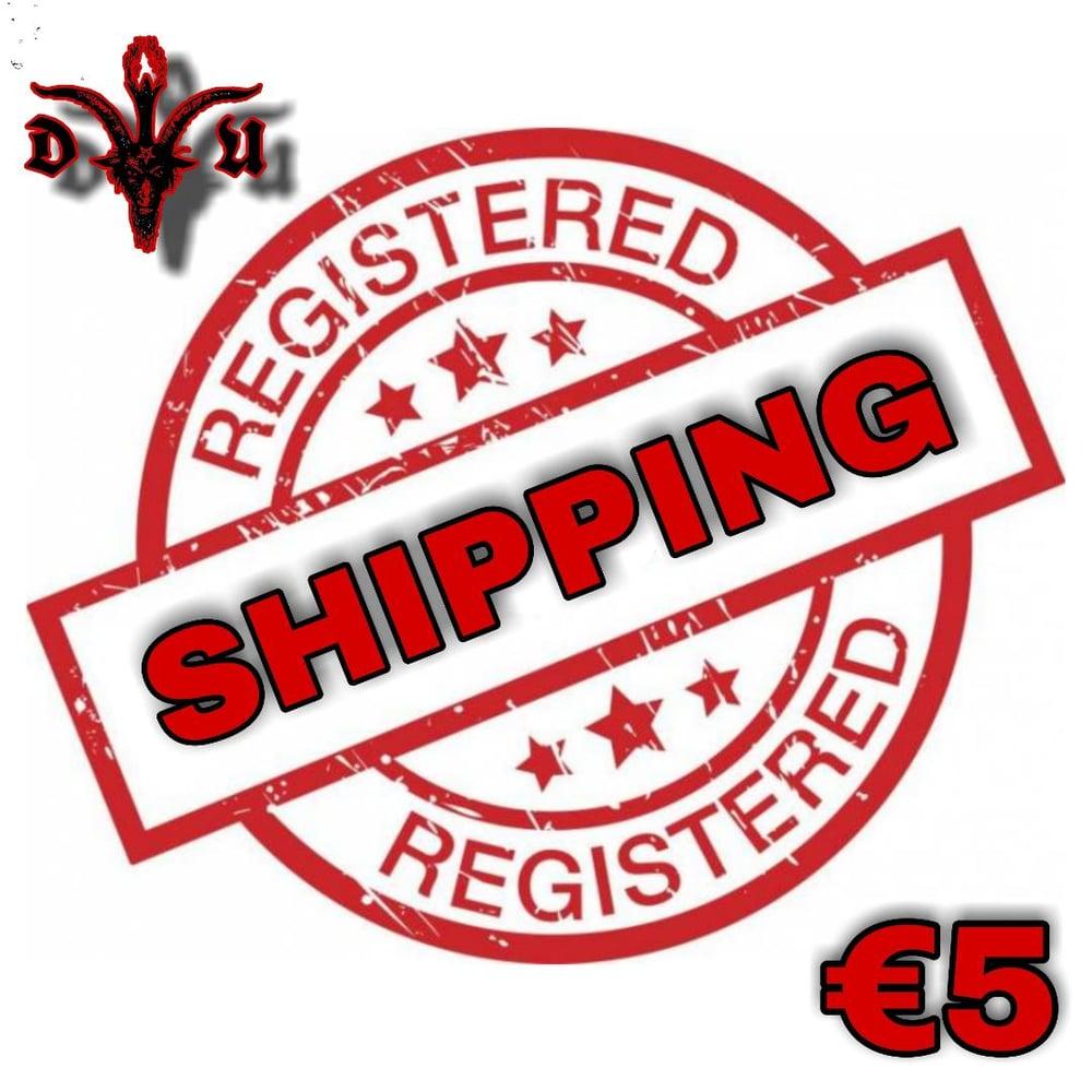 Registered Shipping