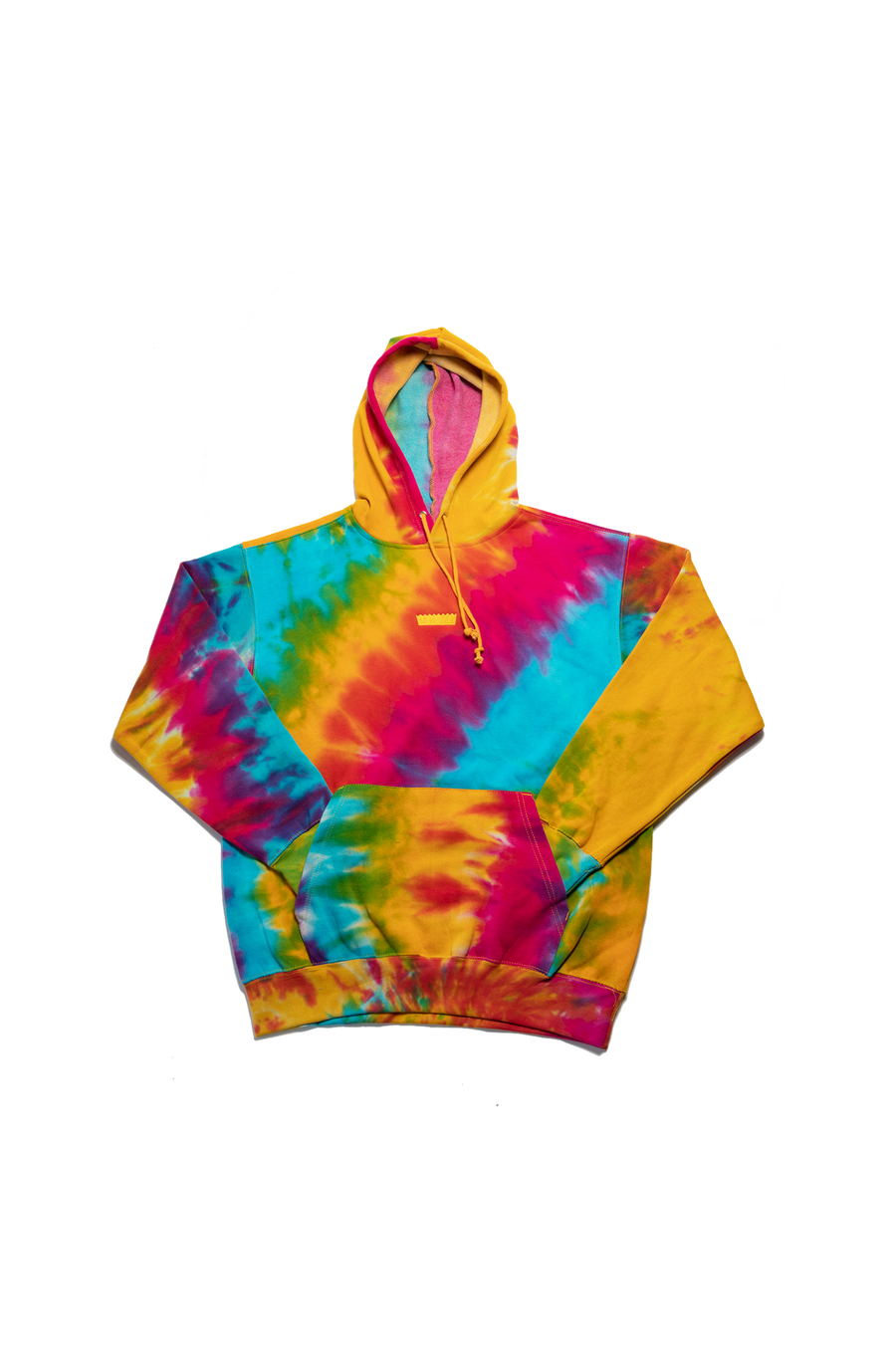 Image of SimpleSesh Tie Dye Embroidered Hoodie