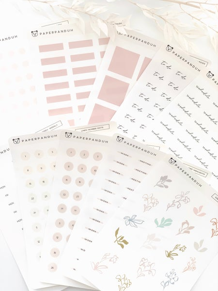 Image of 10 SHEETS FOR $20 TRANSPARENT GRAB BAGS