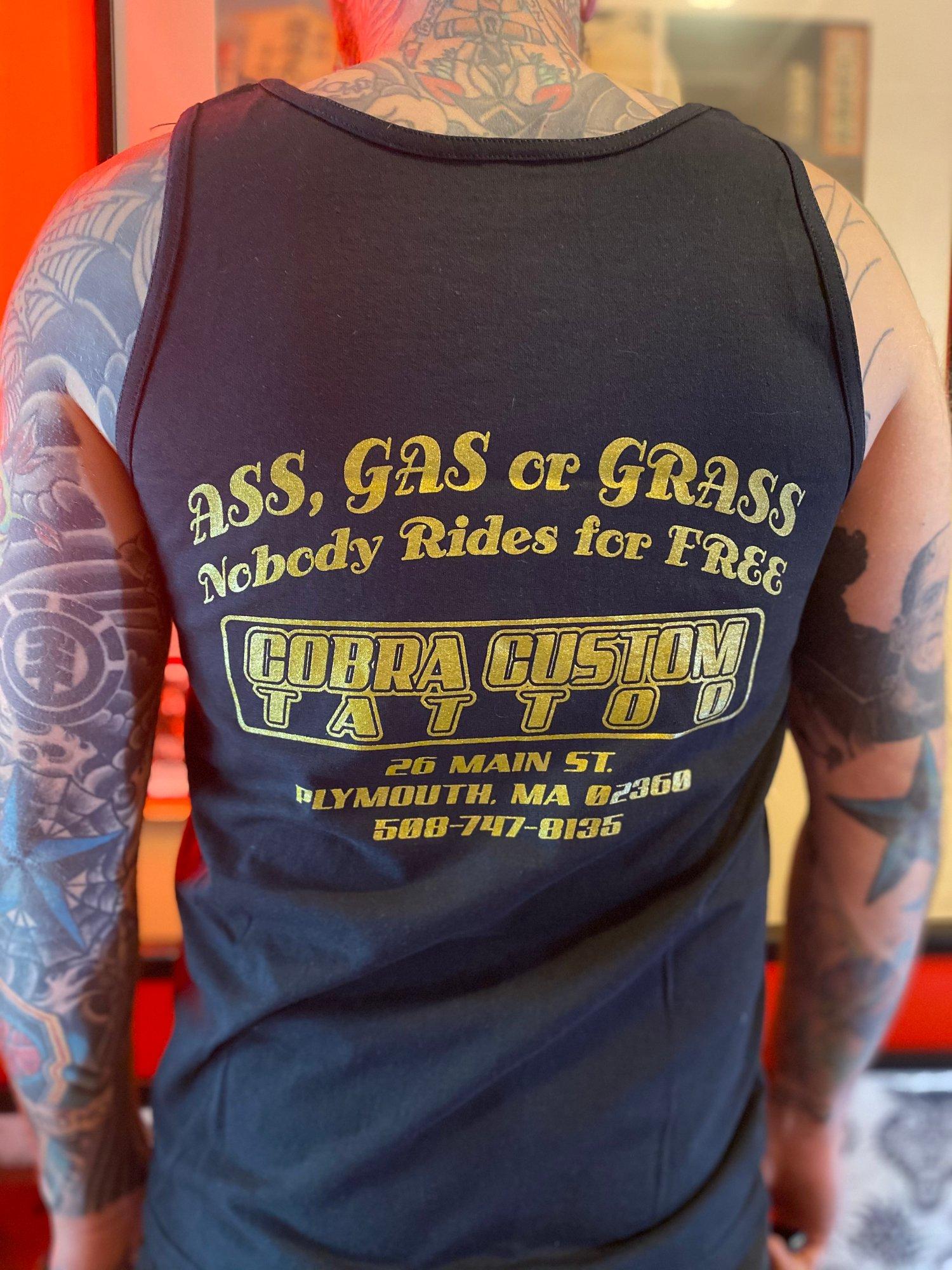 Image of Ass, Gas, or Grass Tank