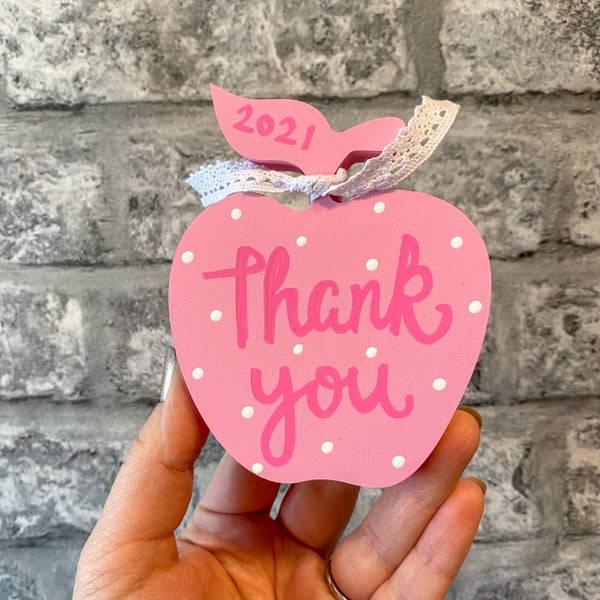 Image of Thank You Apple (with dots)