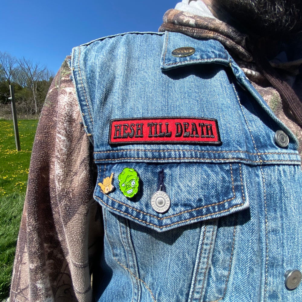 Image of HESH TILL DEATH  patch