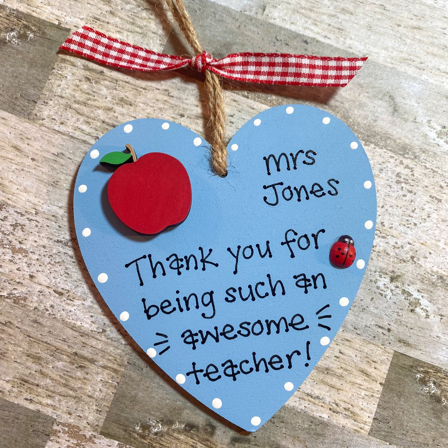 Image of Thank You Heart (small)