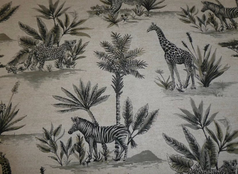 Image of Personalised Chest - Cushion Top - Safari ***DELIVERY AFTER 1st AUGUST***