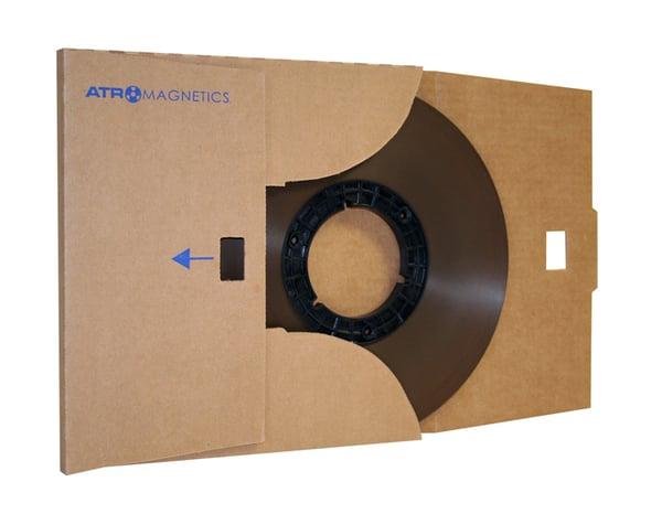 "Image of ATR MASTER 40907P 1/4"" x 2500' on 10.5"" Hub in Cardboard Sleeve"
