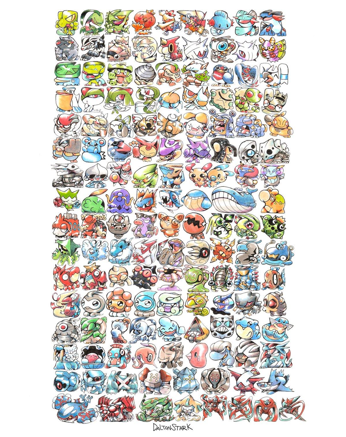 Image of GEN 3 Pokemon Poster