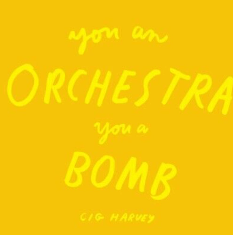 Image of (Cig Harvey) (You An Orchestra You A Bomb)