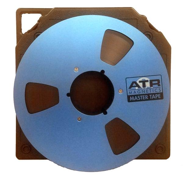 "Image of ATR MASTER 30907 1/2"" x 2500' on 10.5"" NAB Metal Reel in TapeCare Box"