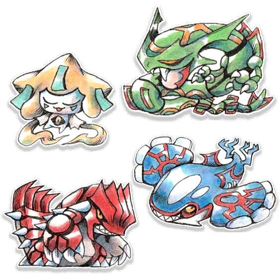 Image of Gen 3 Pokemon Sticker *PREORDER*