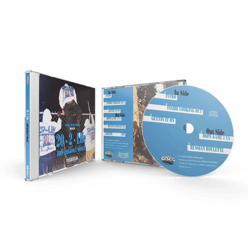 Image of 20-2-Life - Inside Looking Out CD