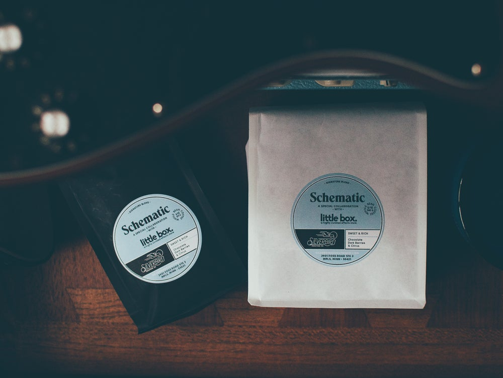 Image of COFFEE - Silverbird x Little Box 'Schematic' Blend