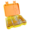 Large leakproof bento lunch box - Convertible yellow